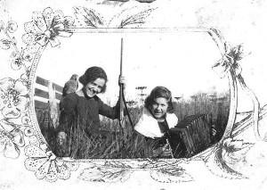 Geralda e Erica - filhas de Adolfo