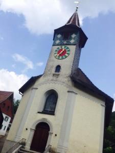 Provável igreja onde foram realizados os sorteios.